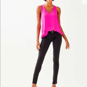 LILLY PULITZER WORTH SKINNY SATEEN JEANS